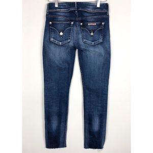 HUDSON   Collin Raw Hem Flap Pocket Skinny Jeans